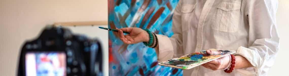 Malowanie dzieła online